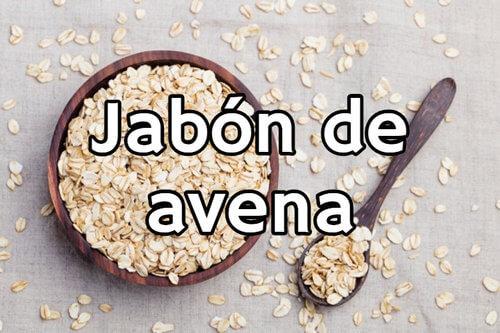 jabon de avena