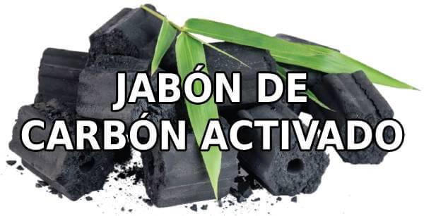 jabon de carbon activado